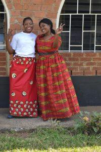 Sister and Bride at Amatebeto preparations