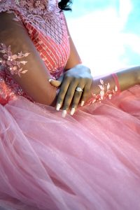Ring pick dress