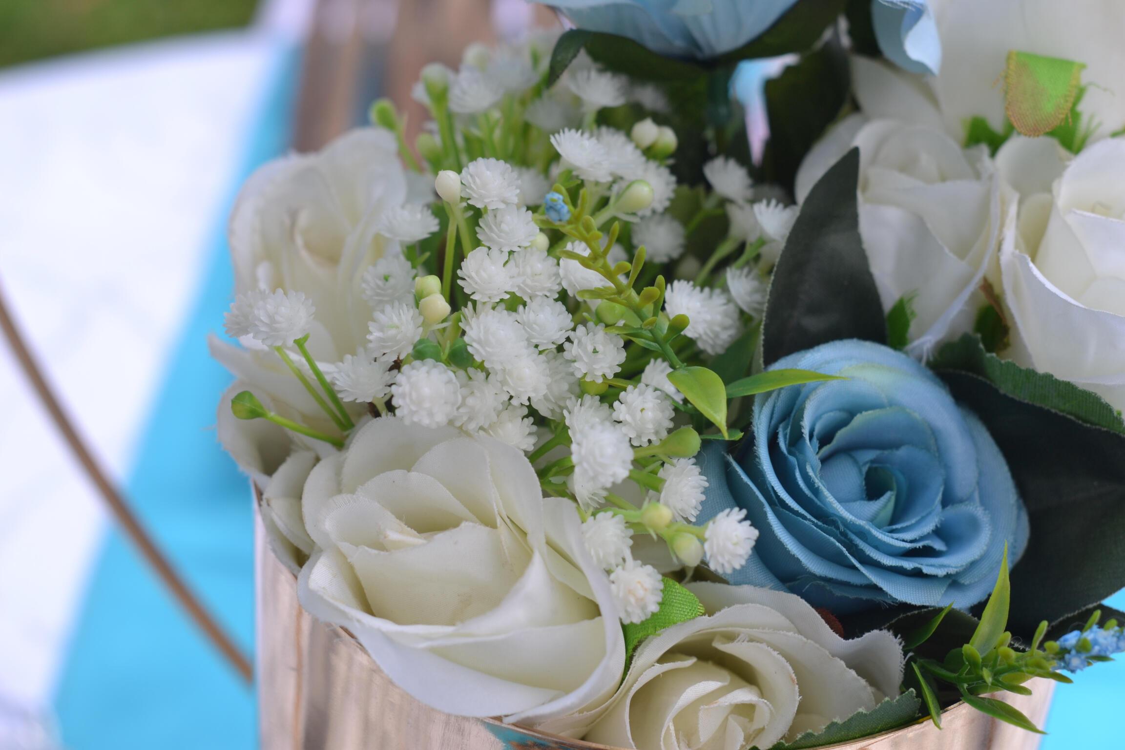 Kitchen Party Decor Flowers